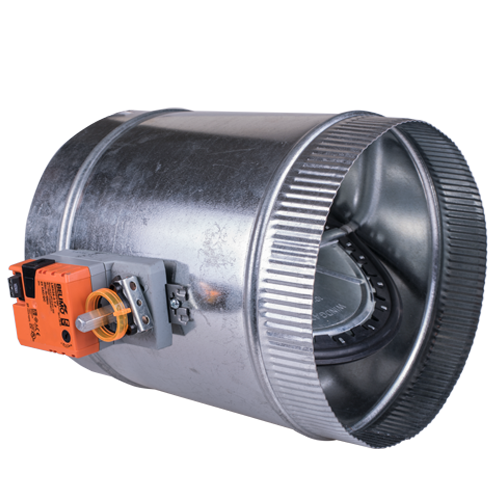 Round-Zone-Control-Motorized-Damper-Sleeve